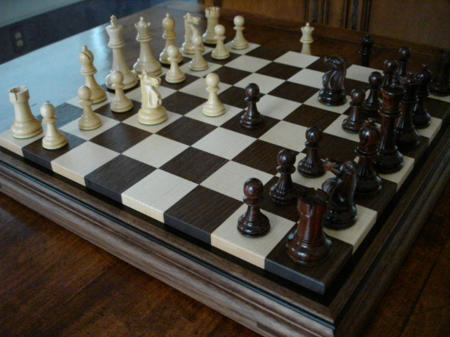 3rd Photo of Cape Elizabeth Chessboard in Living Room
