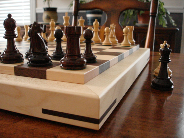 Picture of Monk Chessboard in Living Room