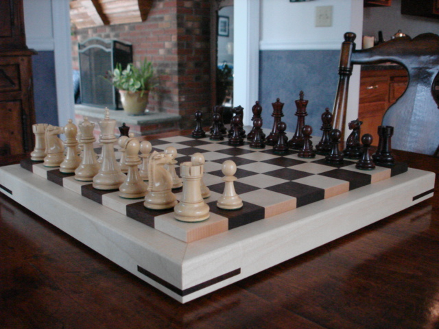 2nd Picture of Monk Chessboard in Living Room